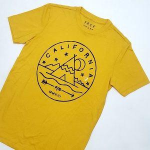 NEW Free State Aero California Graphic Tee T-Shirt